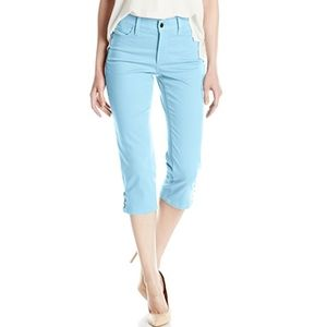 NYDJ ARIEL CROP WITH RIVETS SHELTERING SKY JEANS